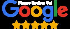 5 start google review